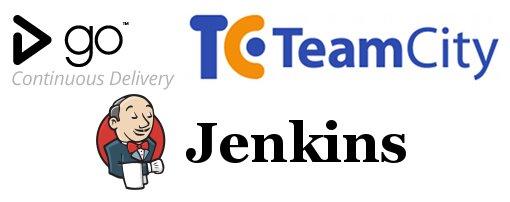 GoCD, TeamCity, Jenkins